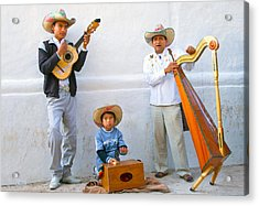 Acrylic Print featuring the photograph Veracruz Troupe by John  Bartosik