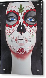 Verdad Acrylic Print by Teresa Beyer