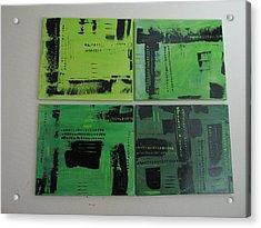 Verdant Earth Acrylic Print