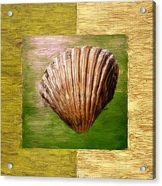 Verde Beach Acrylic Print by Lourry Legarde