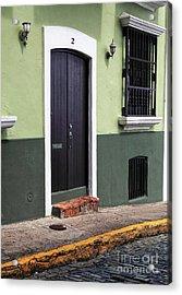 Verde En San Juan Acrylic Print by John Rizzuto