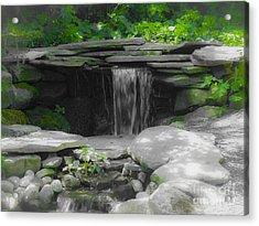 Verde Falls Acrylic Print