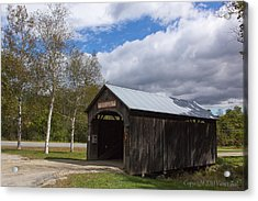 Vermont Country Store Covered Bridge Acrylic Print