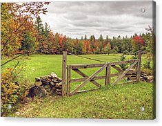 Vermont Countryside Acrylic Print
