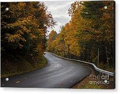 Vermont Fall Acrylic Print
