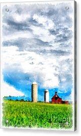 Vermont Farm Scape Acrylic Print