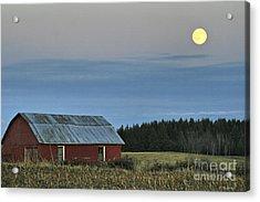 Vermont Full Moon Acrylic Print