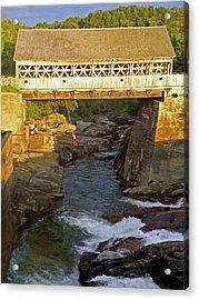 Vermont Swimming Hole Acrylic Print