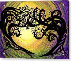 Vernal Equinox Acrylic Print by Janine Riley