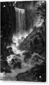 Vernal Falls Acrylic Print by Daniel Behm
