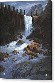 Vernal Falls Yosemite  Acrylic Print