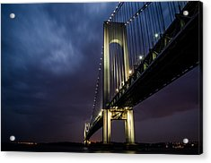 Verrazano-narrows Bridge Acrylic Print by Johnny Lam
