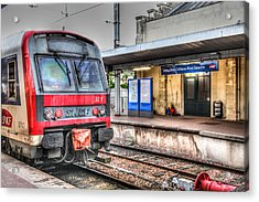 Acrylic Print featuring the photograph Versailles Metro by Ross Henton