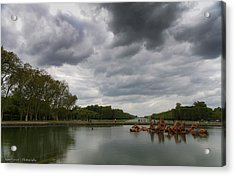 Acrylic Print featuring the photograph Versailles Storm by Ross Henton