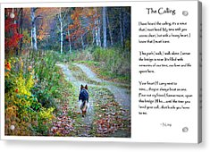 Version Two The Calling Acrylic Print