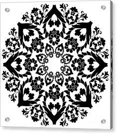 Versions Of Ottoman Decorative Arts Acrylic Print