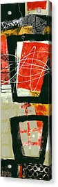 Vertical 1 Acrylic Print by Jane Davies