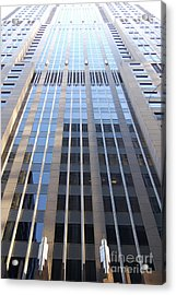 Vertical Chicago By Jammer Acrylic Print