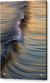 Vertical Wave  Mg0420 Acrylic Print by David Orias