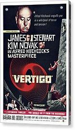 Vertigo, Us Poster Art, From Top Alfred Acrylic Print
