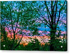 Very Early In The Morning Acrylic Print