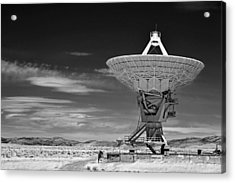 Very Large Array Radio Telescopes Acrylic Print by Christine Till
