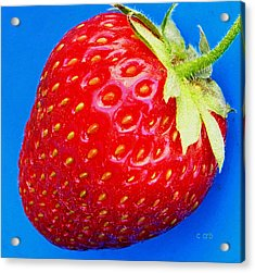 Very Strawberry  Acrylic Print by Chris Berry