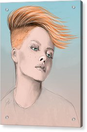 Vesa Acrylic Print by Jason Longstreet