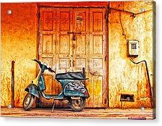 Vespa Acrylic Print