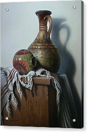 Vessels Acrylic Print by William Albanese Sr