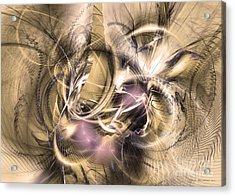 Vestigium Aeternum - Abstract Art  Acrylic Print