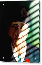 Acrylic Print featuring the painting Veteran by Irena Mohr