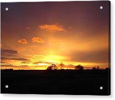 Veteran's Day Sunset 2013 Acrylic Print