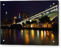 Veteran's Memorial Bridge Acrylic Print