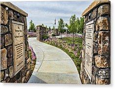 Veterans Plaza Acrylic Print