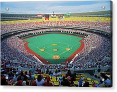 Veterans Stadium During Major League Acrylic Print