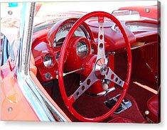 Vette Steering Wheel Acrylic Print