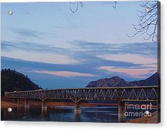 V.f.w. Memorial Bridge Acrylic Print by Joshua Greeson