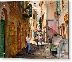 Via Della Lungarina Acrylic Print