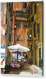 Via Piacenza Acrylic Print