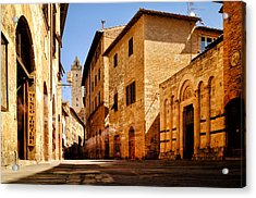 Acrylic Print featuring the photograph Via San Giovanni by Fabrizio Troiani