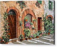 Viaggio In Toscana Acrylic Print by Guido Borelli
