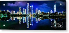 Gold Coast Shines Acrylic Print by Az Jackson