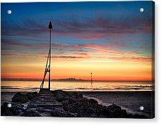 Vibrant Sunrise Acrylic Print