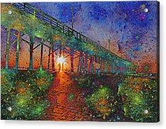 Vibrant Sunrise Acrylic Print by Betsy Knapp
