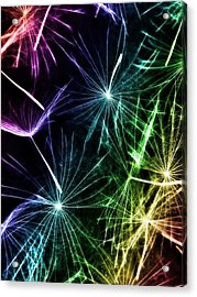 Vibrant Wishes Acrylic Print by Marianna Mills