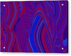 Vibration Wave Acrylic Print