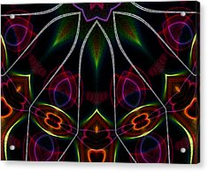 Acrylic Print featuring the digital art Vibrational Tendencies by Owlspook