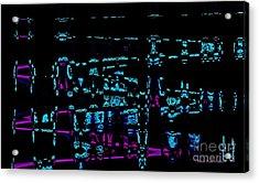 Vibrations Abstract Art Acrylic Print