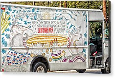 Vic And Nat'ly And The Leidenheimer Po-boy Truck - New Orleans Acrylic Print